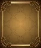 Elegant BloemenFrame Royalty-vrije Stock Fotografie