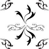 Elegant Bloempatroon voor backgrount of behang royalty-vrije illustratie