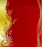 Elegant blom- design Royaltyfri Bild