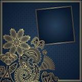 Elegant blom- design Royaltyfria Bilder