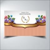 Elegant blomma för inbjudanblick Royaltyfria Foton