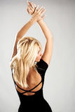 Elegant blond woman Royalty Free Stock Images