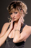 Elegant Blonde Royalty Free Stock Image