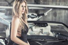 Free Elegant Blonde Luxury Woman Posing. Royalty Free Stock Photo - 99721485