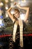 Elegant blondie woman Royalty Free Stock Image
