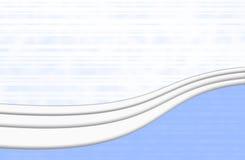 Elegant blue. Elegant background horizontal blue and white Royalty Free Stock Images