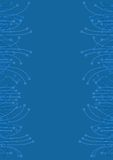 Elegant blue Stock Images
