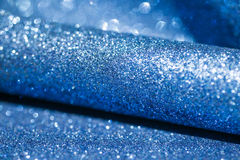 Elegant blue abstract background with bokeh royalty free stock photos