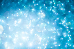 Elegant blue abstract background with bokeh royalty free stock photography