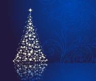 Elegant blue background Stock Images