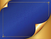 Elegant blue background for any occasion. Stock Images