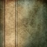 Elegant blue and brown background. With beige ribbon design layout, with copy space Stock Photos