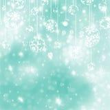 Elegant blue christmas background. EPS 8 Stock Image