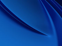 Elegant blue metallic background Stock Images
