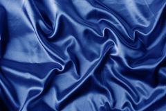 Elegant blue satin background Stock Photo