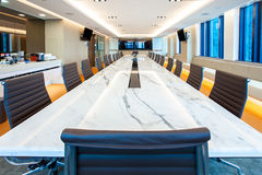 Elegant Board Room Royalty Free Stock Images