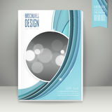 Elegant book cover template design Stock Photo