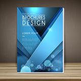 Elegant book cover template design Royalty Free Stock Photo
