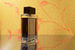 Elegant bottle of perfume Stock Photo