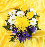 Elegant bouquet shot from above Stock Images