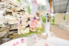 Elegant Bouquet in Vase Royalty Free Stock Photography
