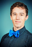 Elegant bow-tie Stock Photography