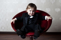 Elegant boy Stock Photography