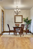 Elegant Breakfast Nook with Chandelier Royalty Free Stock Image