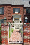 Elegant brick residence Stock Photos