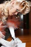 Elegant Bride Stock Photo