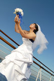 Elegant bride Stock Photos