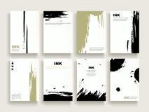 Elegant brochure template Royalty Free Stock Photography