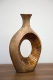 Elegant bronze vase Stock Image