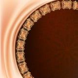 Elegant brown background Royalty Free Stock Image