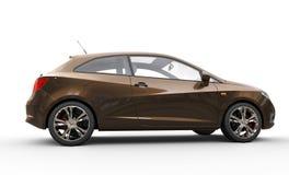Elegant Brown Car Royalty Free Stock Photo