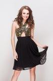 Elegant brunette beauty. Royalty Free Stock Images