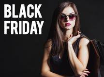 Black Friday Shopping Stock Photography
