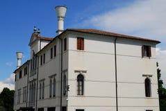 Elegant building in Portobuffolè in the province of Treviso in the Veneto (Italy). Photo taken in an elegant building in Portobuffolè in the province of royalty free stock photos