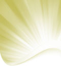 Elegant burst template design. EPS 8 Stock Image