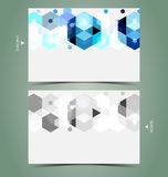 Elegant business card design template Stock Images