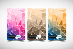 Elegant business card design template Royalty Free Stock Images