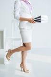 Elegant business lady Royalty Free Stock Photography