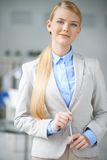 Elegant business lady Royalty Free Stock Photo