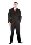 Elegant business man Stock Photography