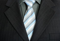 Elegant business suit. With a shirt and a tie Stock Photo
