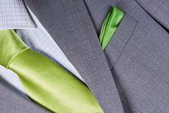 Elegant business suit. With a shirt and a tie Royalty Free Stock Photography