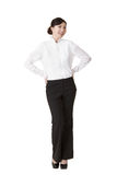 Elegant business woman Stock Image