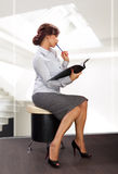 Elegant business woman Stock Photo