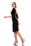 Elegant business woman walking Stock Image