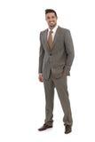 Elegant businessman smiling Stock Photography
